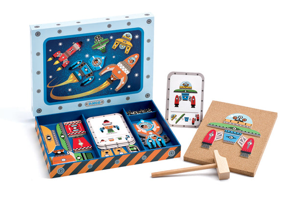 Djeco - Tap Tap - Space - Toot Toot Toys