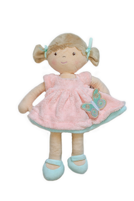 Bonikka - Pia Butterfly Doll with Light Brown Hair - Toot Toot Toys