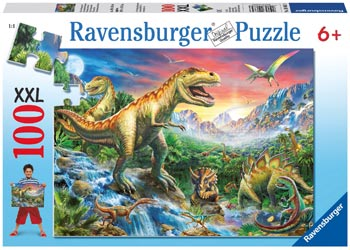 Ravensburger - Time of the Dinosaurs 100 pc XXL