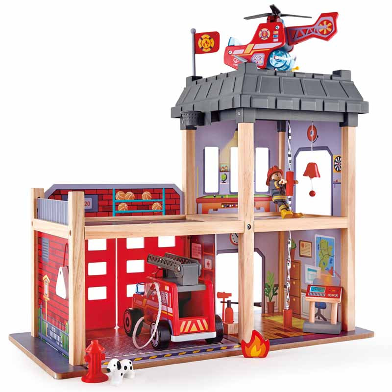Hape -  City Fire Station - Toot Toot Toys