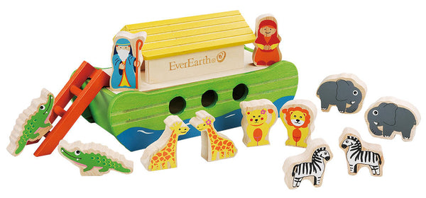 EverEarth Bamboo Noah's Ark - Toot Toot Toys