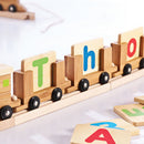 EverEarth Bamboo Name Train - Middle Carriage - Toot Toot Toys