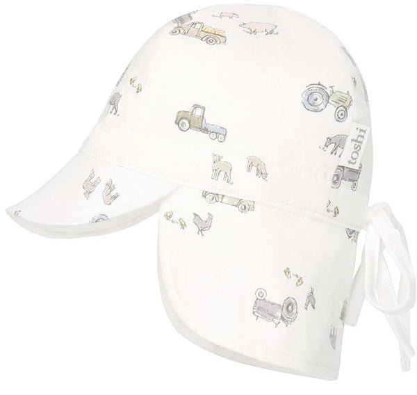 Toshi Flap Cap - Bambini Farmer Joe's