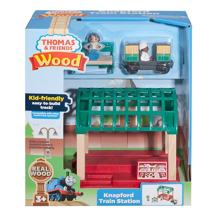 Knapford Train Station - Thomas & Friends Wooden Railway (FKF49) - Toot Toot Toys
