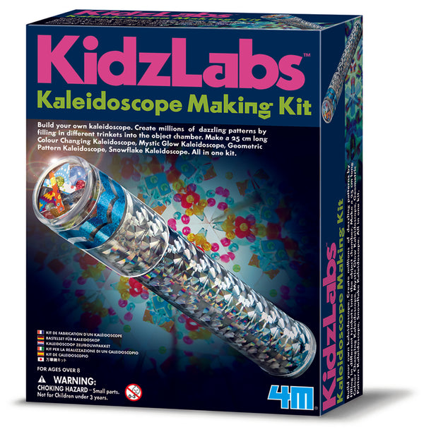 4M - KidzLabs - Kaleidoscope Making Kit - Toot Toot Toys