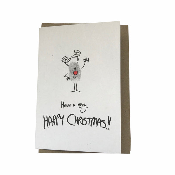 Christmas Gift Cards - Finch Creative - Happy Rudolph