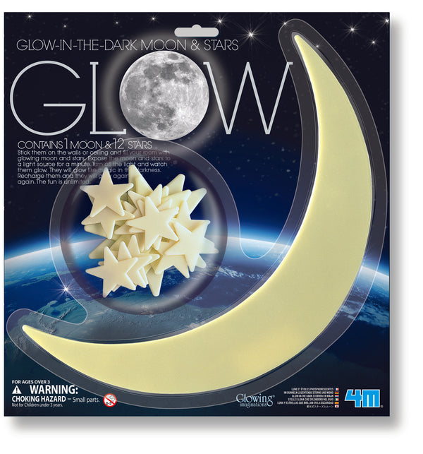 4M - Glow - Moon and Stars - Toot Toot Toys
