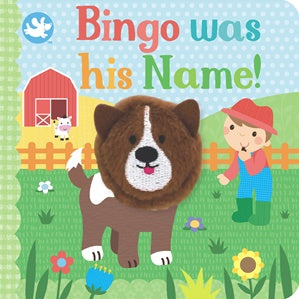 Little Me Finger Puppet Book - Bingo was his Name!