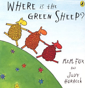 Where is the Green Sheep? - Board Book