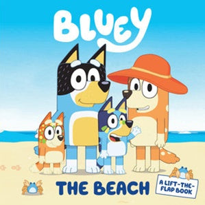 Bluey - The Beach - Lift-the-Flap Book