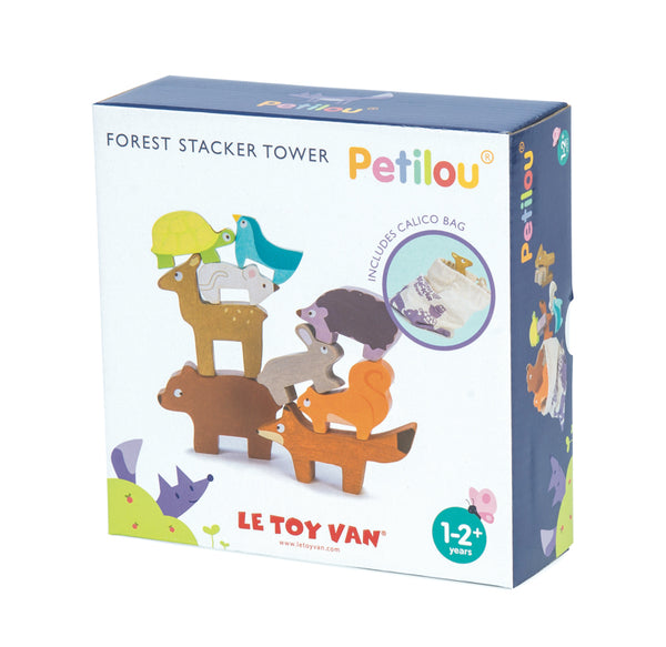 Le Toy Van - Petilou Forest Stacker Tower & Bag