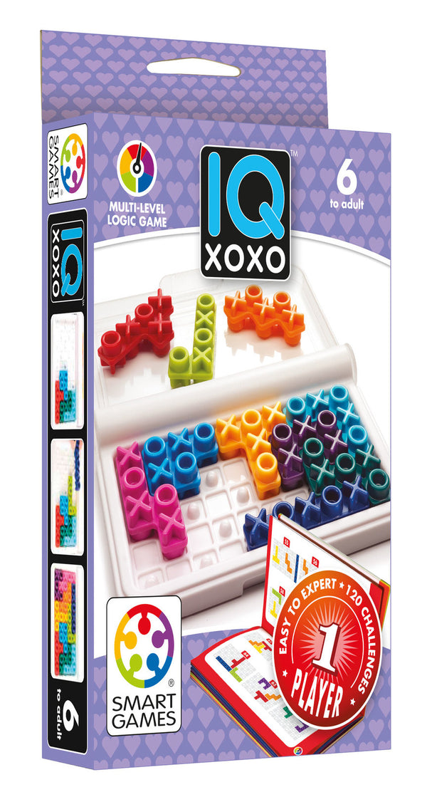 Smart Games - IQ XOXO - Toot Toot Toys