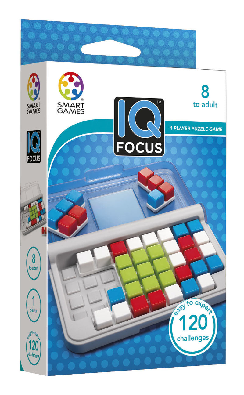 Smart Games - IQ Focus - Toot Toot Toys