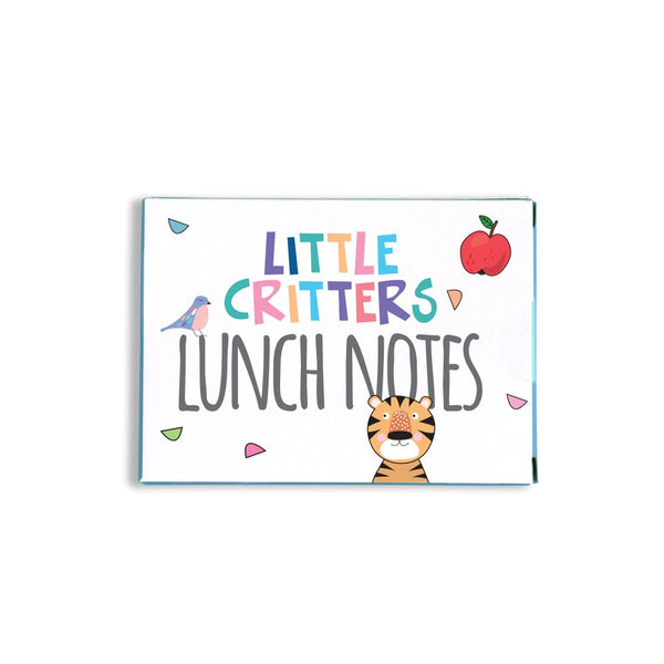 Little Critters Lunch Notes