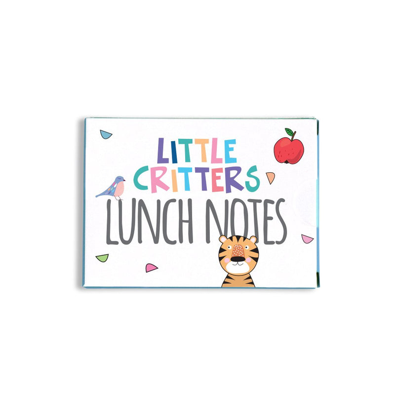 Sprout and Sparrow - Little Critters Lunch Notes