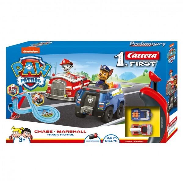 Paw Patrol - My First on the Track Battery Slot Set - Toot Toot Toys
