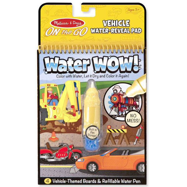 Melissa & Doug – On the Go - Water WOW! - Vehicles