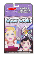 Melissa & Doug – On the Go - Water WOW! - Make Up and Manicures - Toot Toot Toys