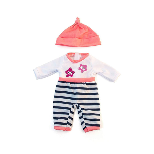 Miniland - Baby Clothing - Pink Winter Pyjamas
