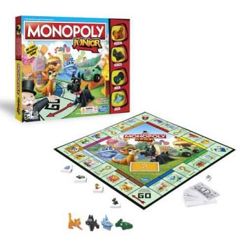 Monopoly Junior - Toot Toot Toys