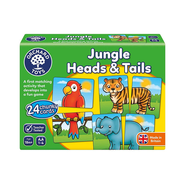 Orchard Toys – Jungle Heads and Tails