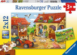 Ravensburger - Working on the Farm 2x12pc