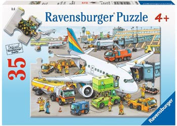 Ravensburger - Busy Airport Puzzle 35pc - Toot Toot Toys