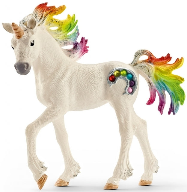 Schleich - Rainbow Unicorn Foal (70525) - Toot Toot Toys