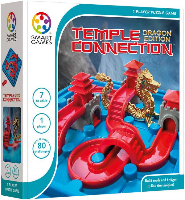 Smart Games - Temple Connection - Dragon Edition