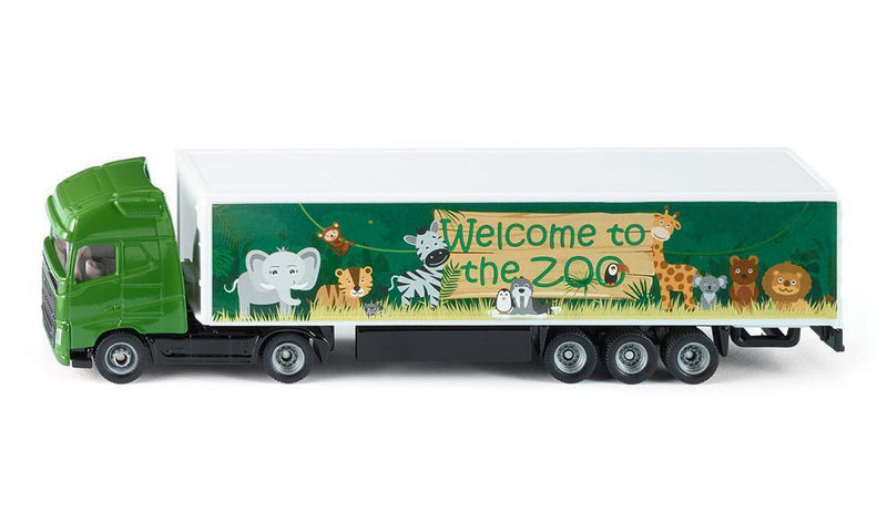 Siku - Truck and Trailer (Welcome to the Zoo) (1627) - Toot Toot Toys