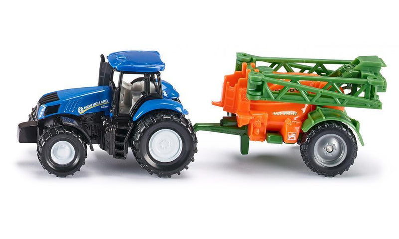 Siku - Tractor with Crop Sprayer - Toot Toot Toys