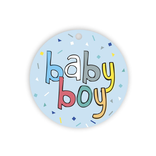 Gift Tags- Baby Boy - Toot Toot Toys