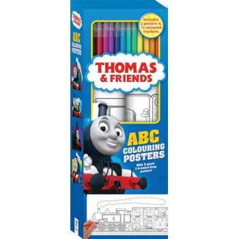 Thomas and Friends - ABC Colouring Posters