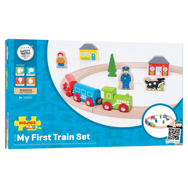 Bigjigs - My First Train Set