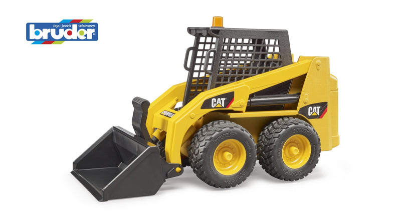 Bruder - Caterpillar Skid Steer Loader (02481) - Toot Toot Toys