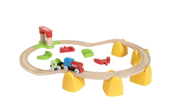 BRIO - My First Railway Battery Operated Train Set (33710) - Toot Toot Toys