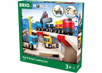 BRIO - Rail & Road Loading Set (33210)