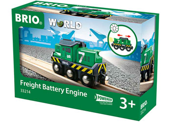 BRIO - Freight Battery Engine (33214) - Toot Toot Toys
