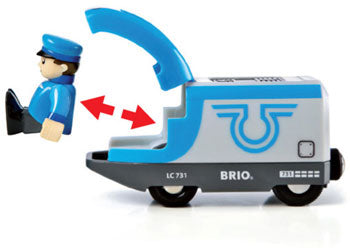 BRIO - Travel Battery Train (33506)