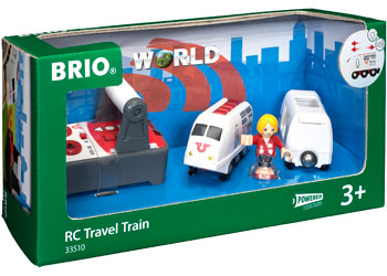 BRIO - RC Travel Train (33510) - Toot Toot Toys