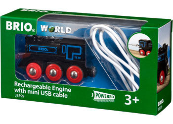 BRIO -  Rechargeable Engine with mini USB cable (33599) - Toot Toot Toys