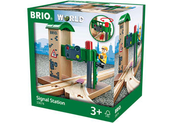 BRIO - Signal Station (33674) - Toot Toot Toys