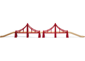 BRIO - Double Suspension Bridge (33683) - Toot Toot Toys