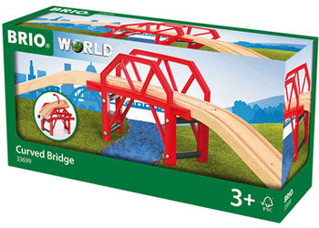 BRIO - Curved Bridge (33699) - Toot Toot Toys