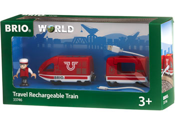 BRIO - Travel Rechargeable Train (33746)