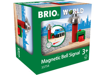 BRIO - Magnetic Bell Signal (33754) - Toot Toot Toys