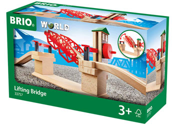 BRIO - Lifting Bridge (33757) - Toot Toot Toys