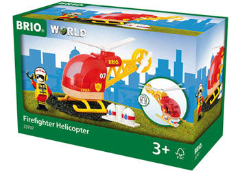 BRIO - Firefighter Helicopter (33797) - Toot Toot Toys