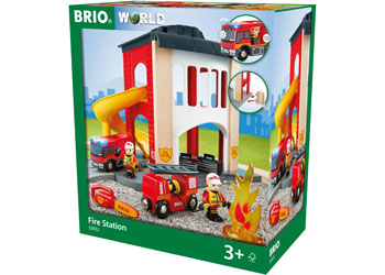 BRIO - Fire Station (33833) - Toot Toot Toys