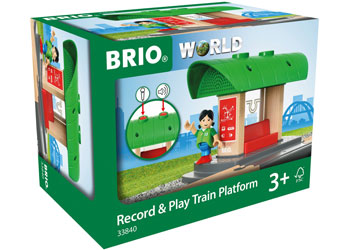 BRIO - Record and Play Train Platform (33840)
